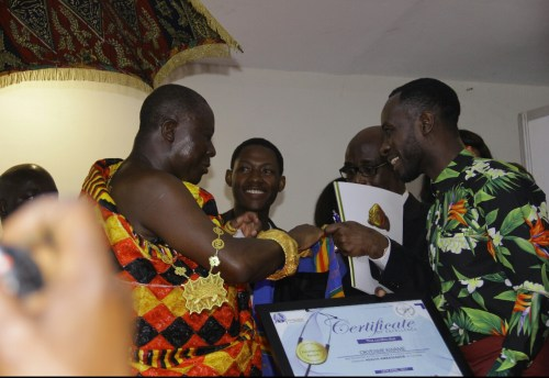 Prof. Frimpong-Boateng, Okyeame Kwame, Others Honoured at PCP Honours