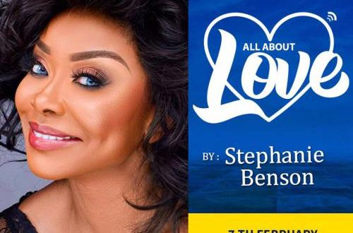 Stephanie Benson – All About Love