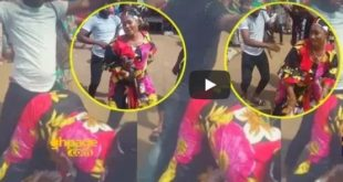 Video of a Muslim Woman Shaking to Patapaa
